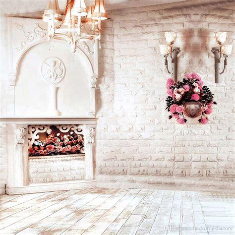 indoor brick wall photography wedding backdrop