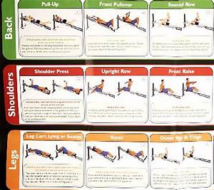 Jim Exercise Chart Total Gym Wall Chart With 35 Exercises Qvc Com
