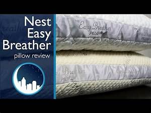 nest easy breather pillow review youtube With easy breathers