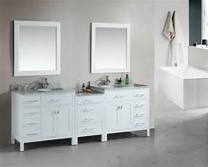 92, Inch, Double, Sink, Bathroom, Vanity, With, Extra, Storage, Room, Uvdedec076dw9292