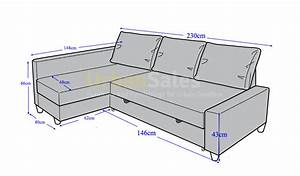 Sofa bed dimensions sofa bed size hereo thesofa for Sofa bed measurements