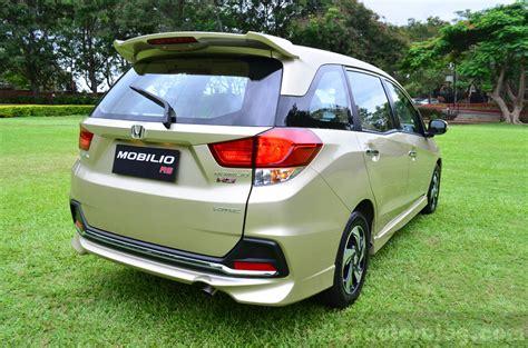 Honda Mobilio Image by Honda Mobilio Rs India Live Image Rear Proflie