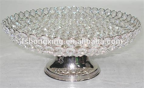 glass bead table l glass bead fruit platter fruit tray plate bowl stand