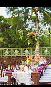 Pin by YANNE BA on Mariage rose   Big island wedding ...