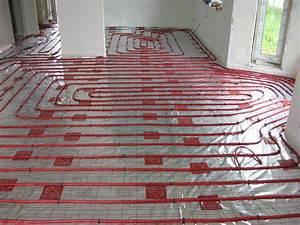 Podlahové topení teplovodní