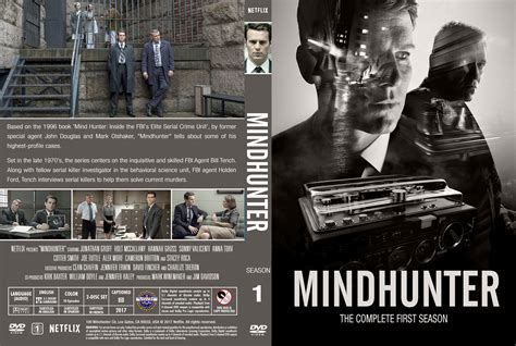 mindhunter season  dvd cover cover addict  dvd