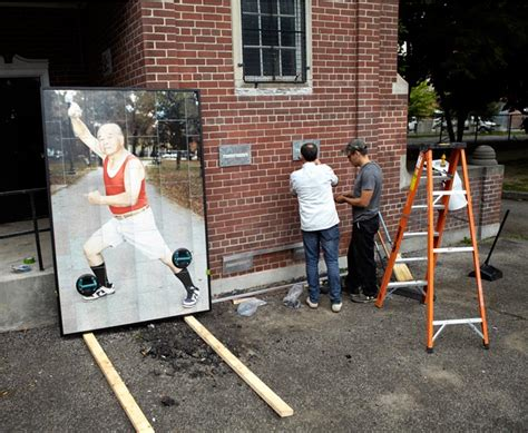 Fauxreel Immortalizes Local Tai Chi Practitioners In Toronto  Brooklyn Street Art
