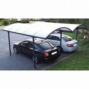 Car Port Alu : carport 2 voitures en alu et polycarbonate 6mm anti uv ~ Melissatoandfro.com Idées de Décoration