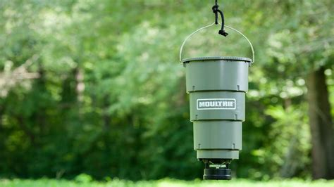 Moultrie Hanging Feeder by Moultrie 5 Gallon All In One Hanging Feeder Wildlife