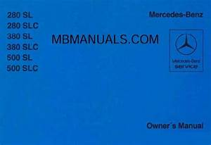 Mercedes Benz R107 280sl Service Repair Manuals
