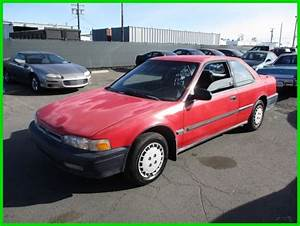 C 1991 Honda Accord Dx Used 2 2l I4 16v Manual No Reserve