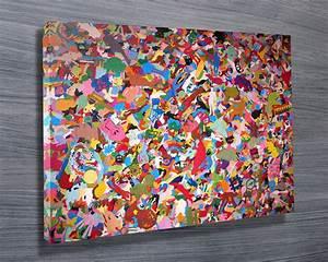 Buy Modern Art Canvas Print Sydney Australia