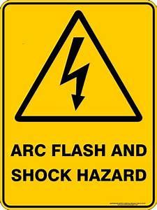 arc flash and shock hazard australian safety signs With arc flash hazard sticker