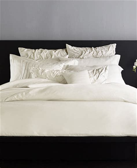 donna karan bedding collections macy donna karan silk essentials pearl bedding collection