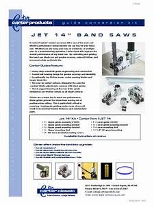 Carter Products Jet Bandsaw Guide Conversion Kit