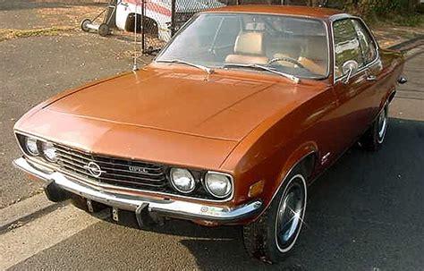 1973 opel manta just a car geek 1973 opel manta