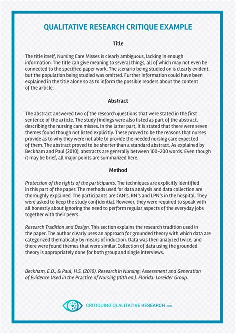 Savesave critique paper (sample) for later. Greatest Critique Paper Online | Critiquing Qualitative Research