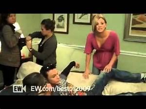 'Big Bang Theory' meets Jim Parsons & Kaley Cuoco - YouTube