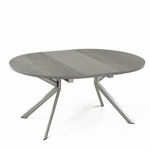Tables Rondes Extensibles : table ronde extensible en c ramique giove connubia 4 ~ Teatrodelosmanantiales.com Idées de Décoration