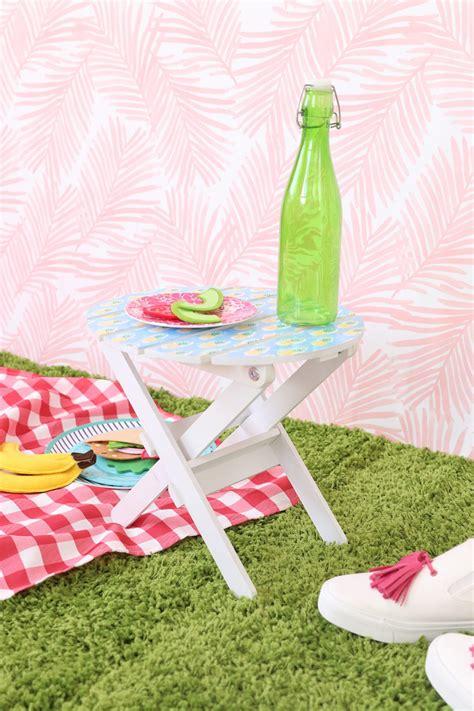 Ikea Mini Tisch by Ikea Hack Mini Picnic Table Damask