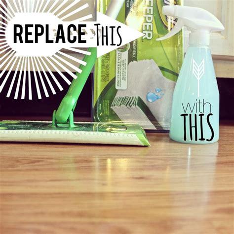 home made laminate floor cleaner using 3 ingredients