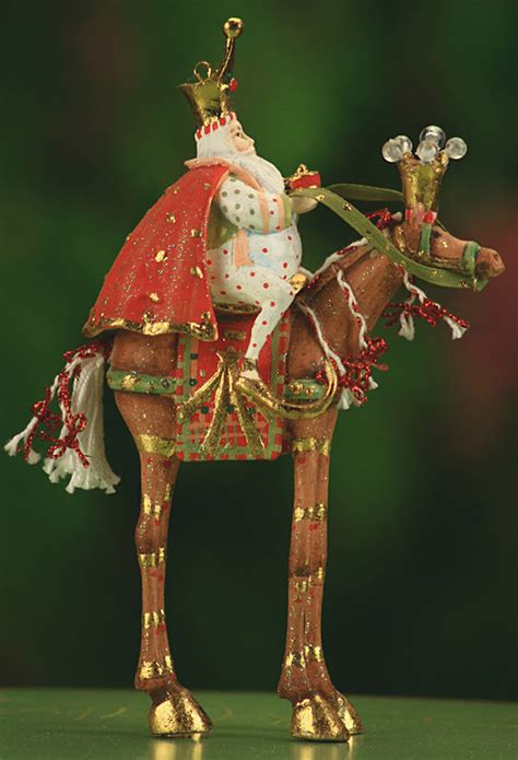 patience brewster krinkles magi on animals ornaments 3
