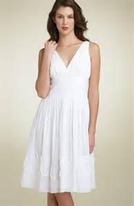 white sundress wedding 01 sundresses for women plus