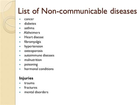 Noncommunicable Vs Communicable Diseases  Ppt Video