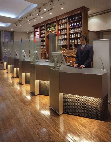 pharmacy counter schemata architects jo nagasaka