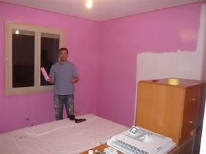 peinture rose nos renos decos With peindre une entree et un couloir 3 entree couloir nos renos decos