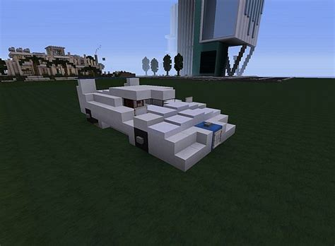 Sports Car Minecraft by Moderne Sport Car Minecraft Project