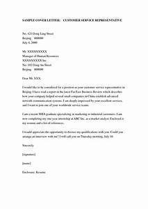 cover letter example cover letter examples for customer With resume and cover letter services
