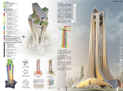 Dubai Architecture School Tower Competition Winners