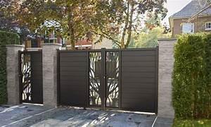 Cloture Aluminium Castorama : choisir un portail castorama ~ Melissatoandfro.com Idées de Décoration