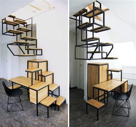 Small Sinks For Kitchens by Suspended Staircase Makes Steepness Chic Amp Comfortable