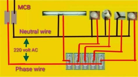 House Wiring Home Connection Diagram Youtube
