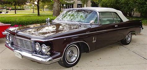 63 Chrysler Imperial by Convertible Top 1961 63 Chrysler Imperial