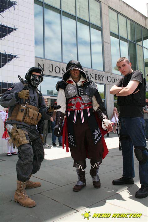 modern assassins creed costume fanime gallery assassin s creed ezio and modern warfare reactor
