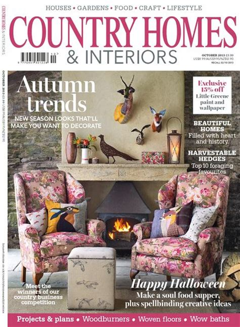 home and interiors magazine country homes interiors magazine october 2013