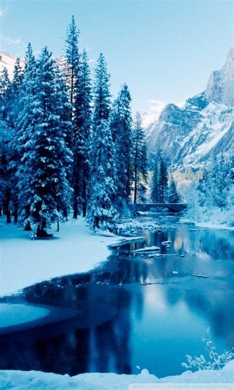 winter landscapes wallpapers apk   android