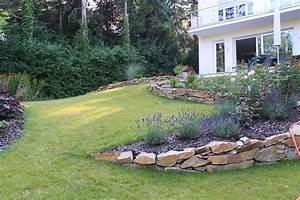 Garten Hanglage Begradigen : die besten 17 ideen zu gartengestaltung hanglage auf pinterest st tzmauer terrasse ~ Markanthonyermac.com Haus und Dekorationen