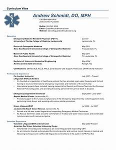 Curriculum vitae curriculum vitae physician for Cv template for physicians