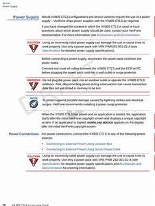 Verifone Vx805ctls Pos Terminal User Manual Users Manual