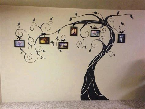 tree wall decor with pictures the diy amazing family tree wall 237 que