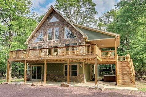 cabin rentals in pa with tub 6 bed poconos cabins for rent this weekend book luxury