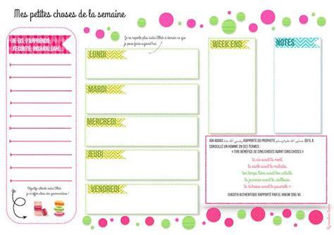 Planning horaires planning hebdomadaire planning semaine planning mensuel planning annuel ils sont sous la forme de semainier imprimable avec ou sans les horaires en format pdf et d'image à. Épinglé sur Organisation