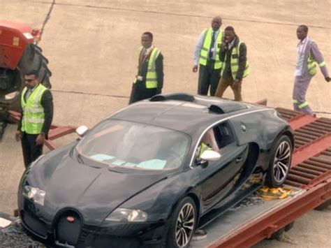 This is now the new plant dedicated to production of the veyron in molshiem, france. $3m Bugatti Veyron brings Zambia to a stand still and causes a stir ARTICLE - Pulse Live Kenya