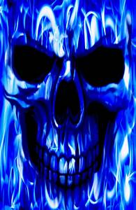 Blue Ghost Rider Wallpaper - WallpaperSafari