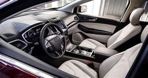 ford edge st revealed  proper performance variant