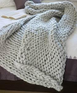 Chunky Knit Decke : love chunky knit blankets diy 39 s pinterest decken stricken und sch ne stoffe ~ Whattoseeinmadrid.com Haus und Dekorationen